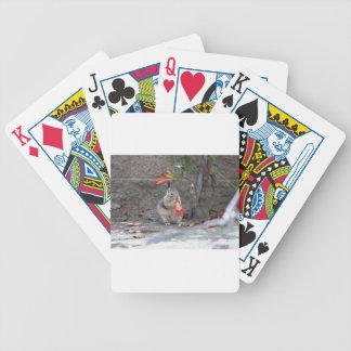 Het Houden van van de bloem Eekhoorn Poker Kaarten