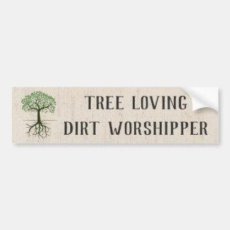 Het Houden van van de boom de Sticker van de