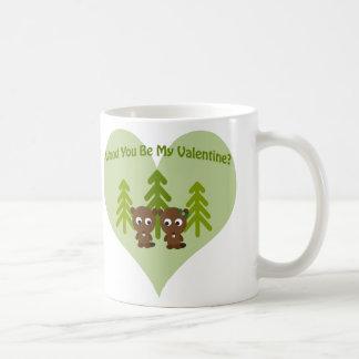 Het hout u is Mijn Valentijn Koffiemok