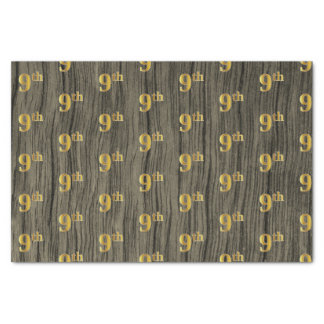 Het Hout van Faux, Gouden 9de (Negende) Tissuepapier