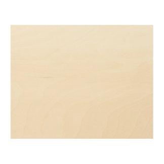 Het Houten Canvas van de douane 10x8