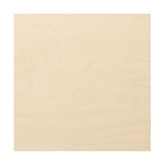 Het Houten Canvas van de douane 12x12