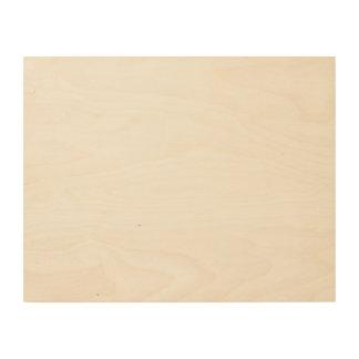 Het Houten Canvas van de douane 14x11