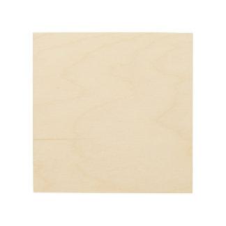 Het Houten Canvas van de douane 8x8