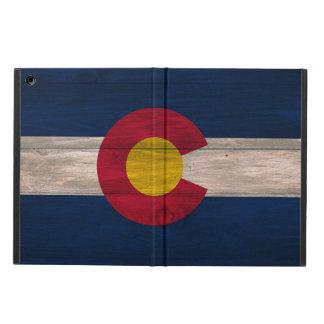 Het houten hoesje van de de vlag ipad lucht van iPad air hoesje