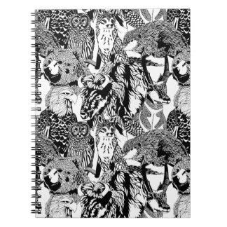 Het houten Notitieboekje van Critter van het Ringband Notitieboek