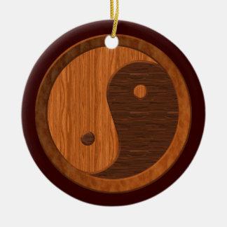 Het houten Ornament van Yin Yang