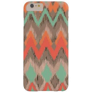 Het houten stammen Azteekse patroon van de Barely There iPhone 6 Plus Hoesje