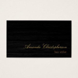 Het houten Visitekaartje van de Herenkapper van Visitekaartjes