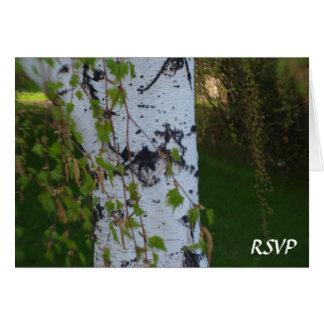 Het huilen het Huwelijk RSVP van de Berk Briefkaarten 0