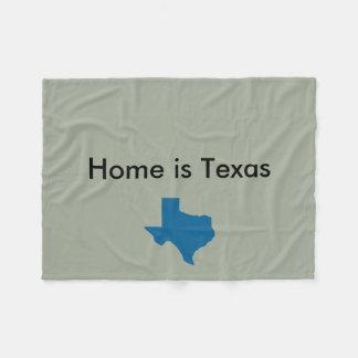 Het huis is de Deken van Texas
