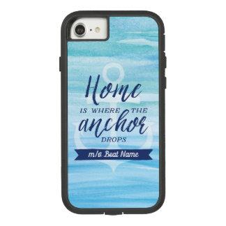 Het huis is waar het Anker daalt Case-Mate Tough Extreme iPhone 8/7 Hoesje