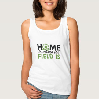 Het huis is waar The Field is Tanktop