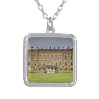 Het Huis Pemberly van Chatsworth Zilver Vergulden Ketting