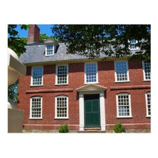 Het Huis van de derby, Salem, doctorandus in de Briefkaart