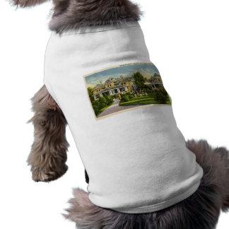 Het Huis van de diamant - Huis van David - Benton Mouwloos Hondenshirt