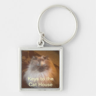 Het Huis van de kat Sleutelhanger