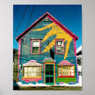 Het Huis van de kip Poster