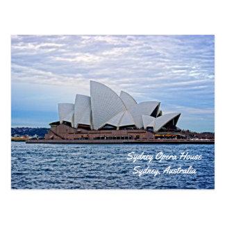 Het Huis van de opera - het Briefkaart van Sydney