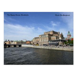 Het huis van de Opera, Stockholm, Phot… Briefkaart