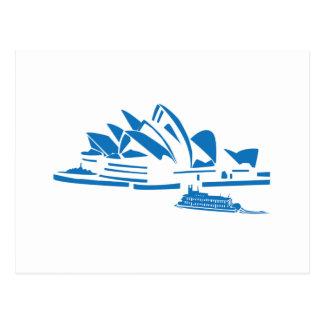 Het Huis van de Opera van Sydney Briefkaart