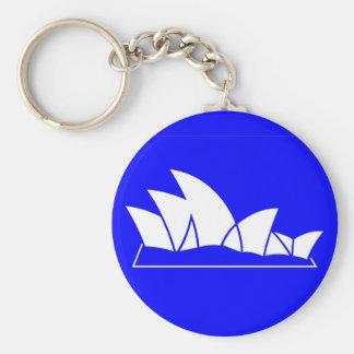 Het Huis van de Opera van Sydney Sleutelhanger