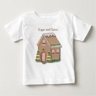 Het Huis van de Peperkoek van Kerstmis Baby T Shirts