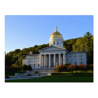 Het Huis van de Staat van Vermont, Montpelier Briefkaart