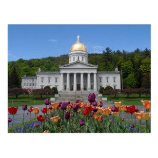 Het Huis van de Staat van Vermont - Montpelier Briefkaart