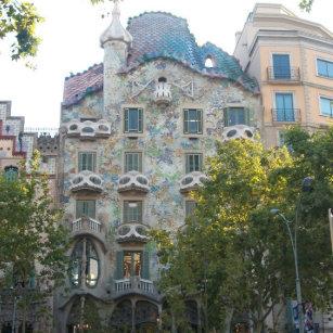 Stijl Van Gaudi.Gaudi Magneten Zazzle Nl