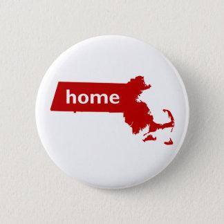 Het Huis van Massachusetts Ronde Button 5,7 Cm
