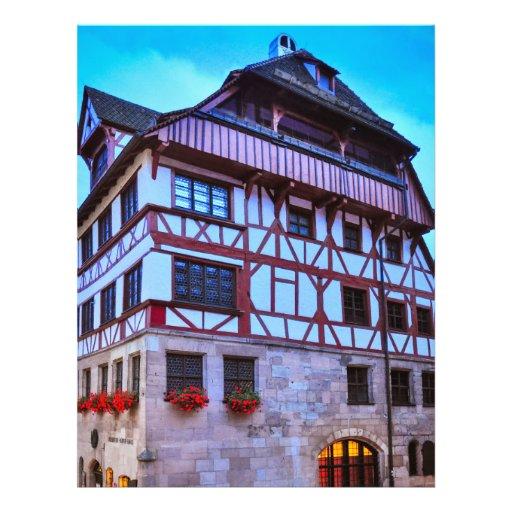 Het huis van Nuremberg Fullcolor Folder