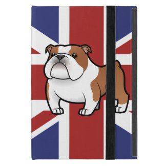 Het Huisdier van de cartoon met Vlag iPad Mini Hoesje