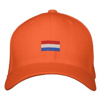 Het Huisdier van Vlag van Nederlandse - Hup Geborduurde Pet