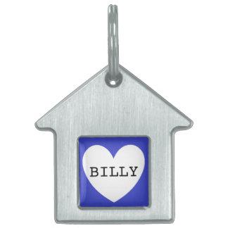 ❤️   het huisdierenlabel van BILLY door DAL Huisdieren Naamplaatje