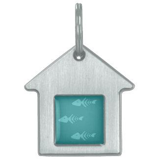 Het huisdierenlabel van het huis huisdieren naamplaatjes