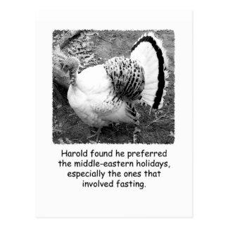Het humoristische Briefkaart van de Thanksgiving