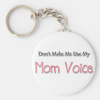 Het humoristische Spreuk van het Mamma Basic Ronde Button Sleutelhanger