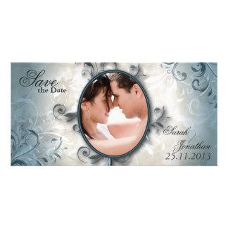 Het huwelijk bewaart de Aankondiging van de Datum Fotokaarten