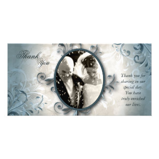 Het huwelijk dankt u de Kaart van de Foto - Gepersonaliseerde Fotokaarten