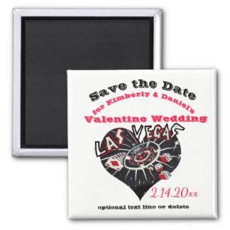 Het Huwelijk Las Vegas, Nevada van Valentijn Magneet