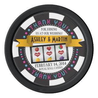 Het Huwelijk van de Bestemming van het Casino van Pokerchips