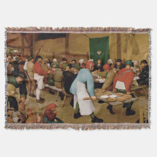 Het huwelijk van de Boer door Pieter Bruegel Ouder Deken