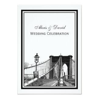 Het Huwelijk van de Brug van Brooklyn van de Kaart