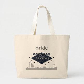 """Het Huwelijk van de """"bruid"""" in de Zak van Las Vega Grote Draagtas"""