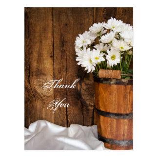 Het Huwelijk van de emmer en van het Land van Briefkaart