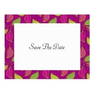 Het Huwelijk van de herfst bewaart het Briefkaart