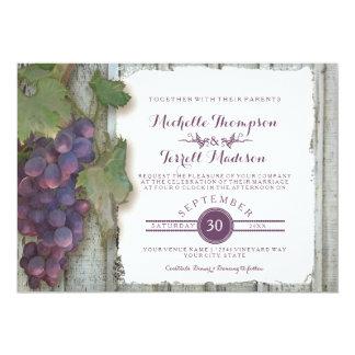 Het Huwelijk van de Herfst van het Thema van de 12,7x17,8 Uitnodiging Kaart