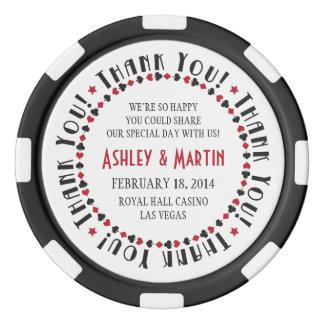 Het Huwelijk van de Kostuums van de Kaart van het Pokerchips