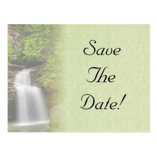Het Huwelijk van de waterval bewaart het Briefkaart